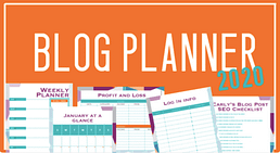 Blog Planner 2020 By Carly with EquiJuri