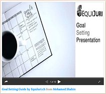 (13-Step) Goal Setting Presentation By EquiJuri