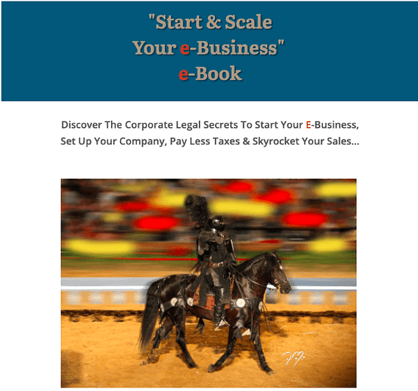 Start & Scale Your E-Business With EquiJuri E-Book