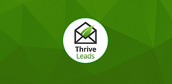 Thrive-Leads logo green