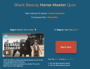 Black Beauty Horse Quiz