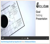 (13-Step) Goal Setting Presentation By EquiJuri